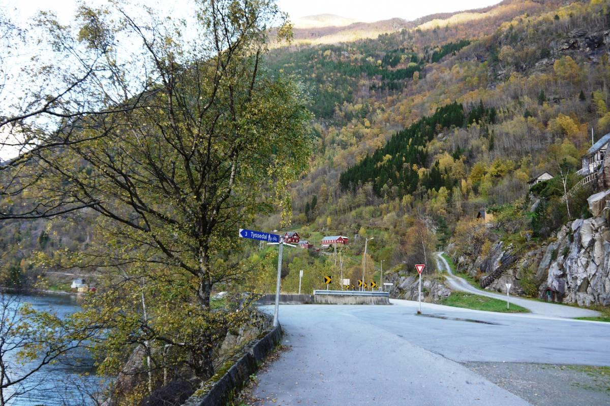 Stana Gard Fin gåtur fra Stana til Tyssedal.