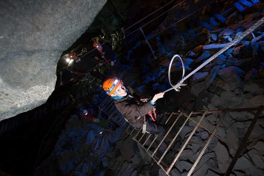 HONISTER SLATE MINE LIMITED Climb in the Mine