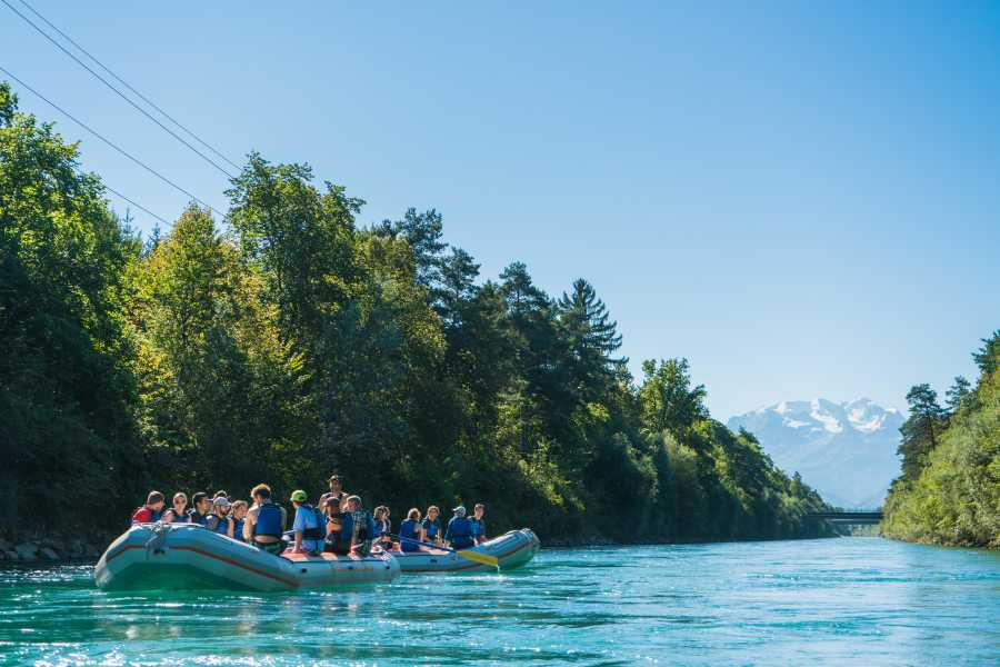 Outdoor Interlaken AG 阿勒河漂流之旅(Aare Float Trip)