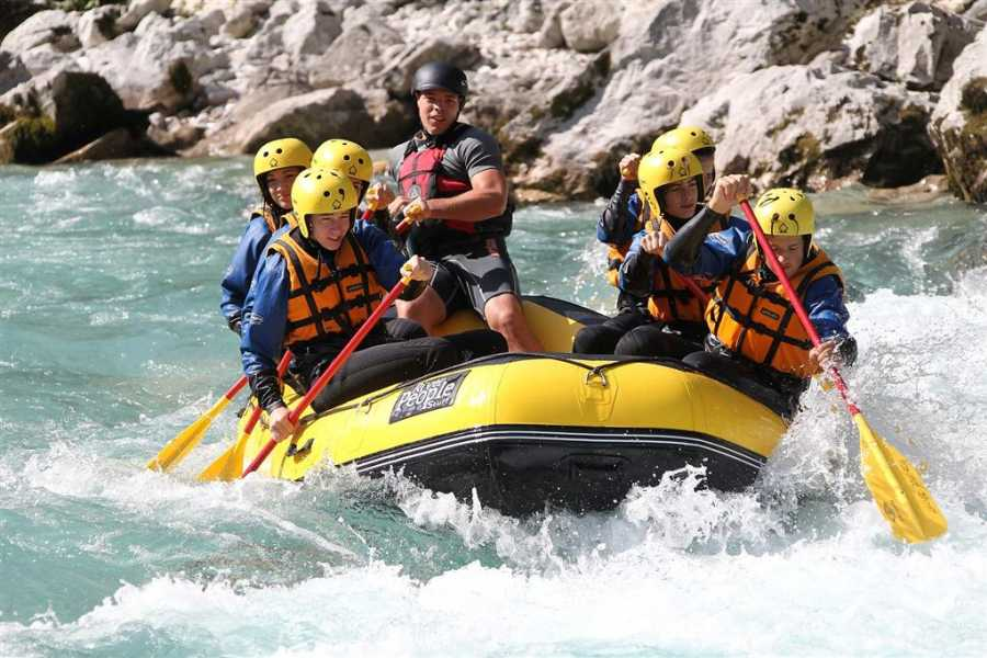 Nature Trips Slovenia: One day trip Rafting and Canyoning in Soča Valley