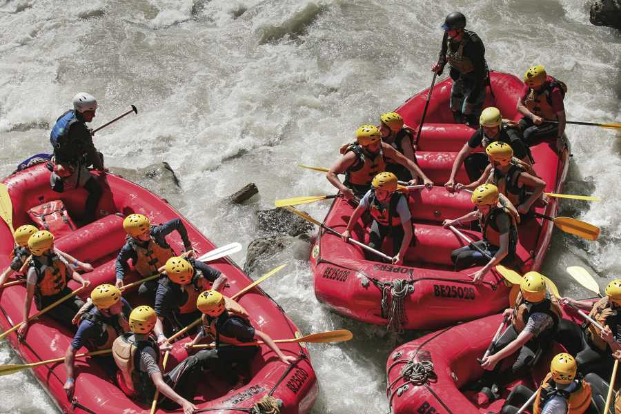 Outdoor Interlaken AG 锡默河漂流(River Rafting Simme)