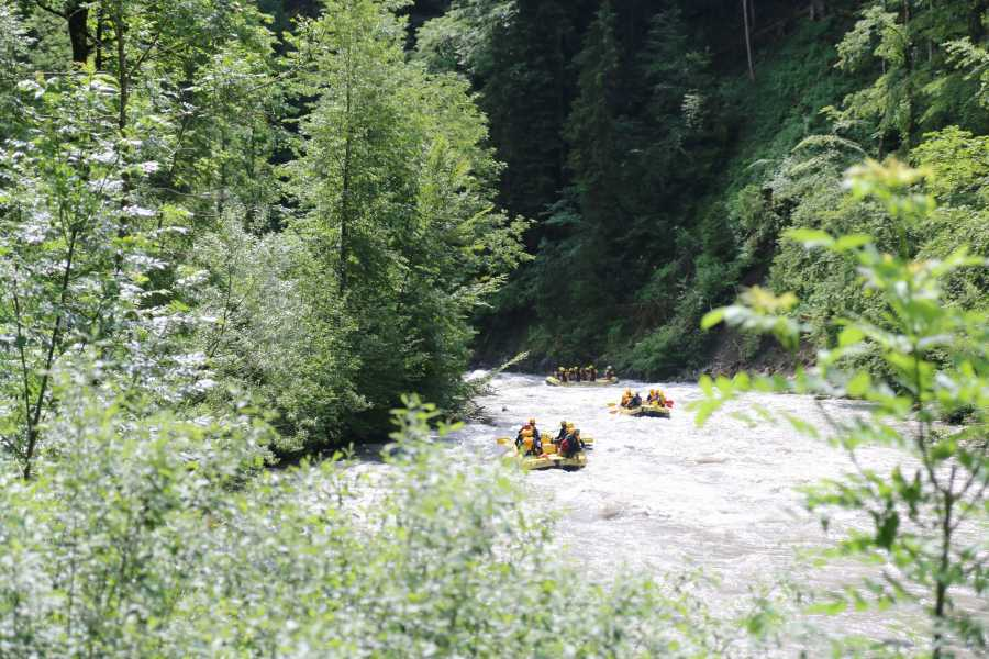 Outdoor Interlaken AG 시머강 래프팅 (River Rafting Simme)