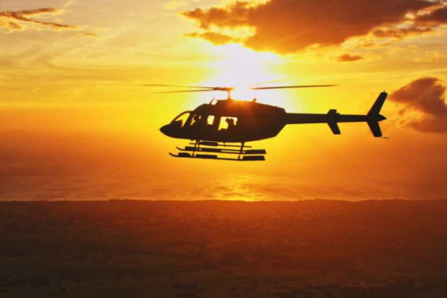 Dream Vacation Builders Helicopter Sunset Experience