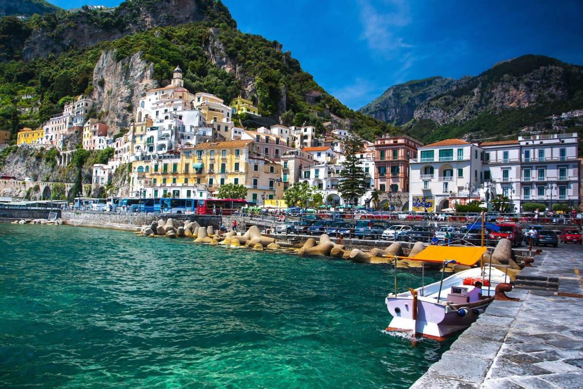 Travel etc Amalfi Coast Experience from Castellammare/Pompeii