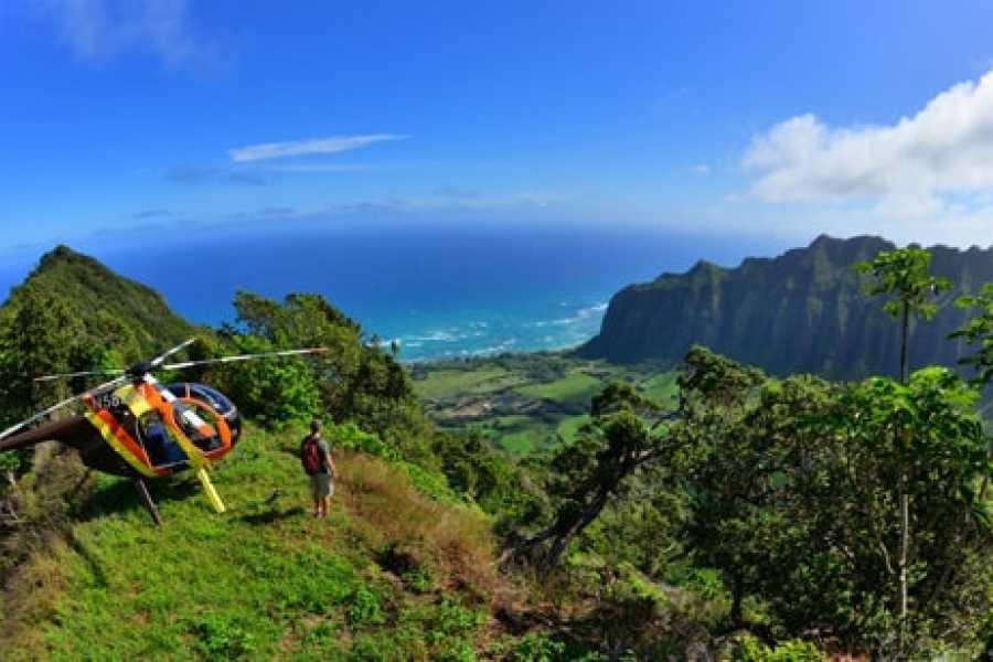 Dream Vacation Builders Helicopter Experience Hawaii Tour