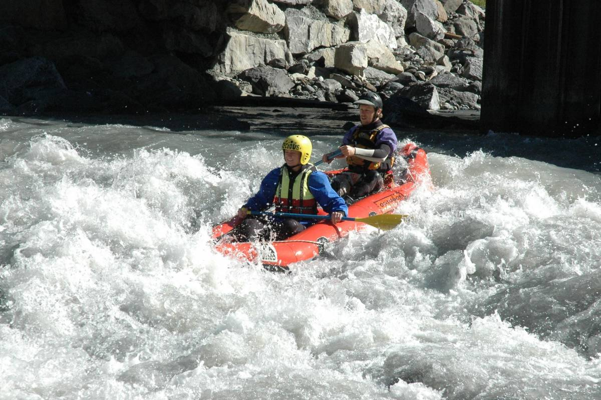 Outdoor Interlaken AG Tandem Rafting