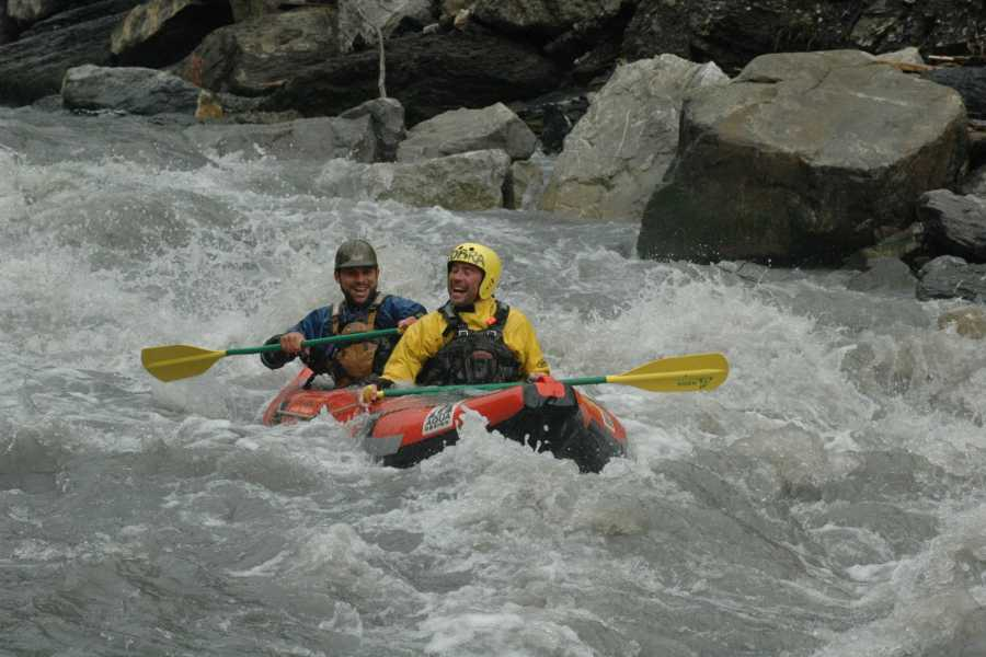 Outdoor Interlaken AG 1대1 래프팅 (Tandem Rafting)