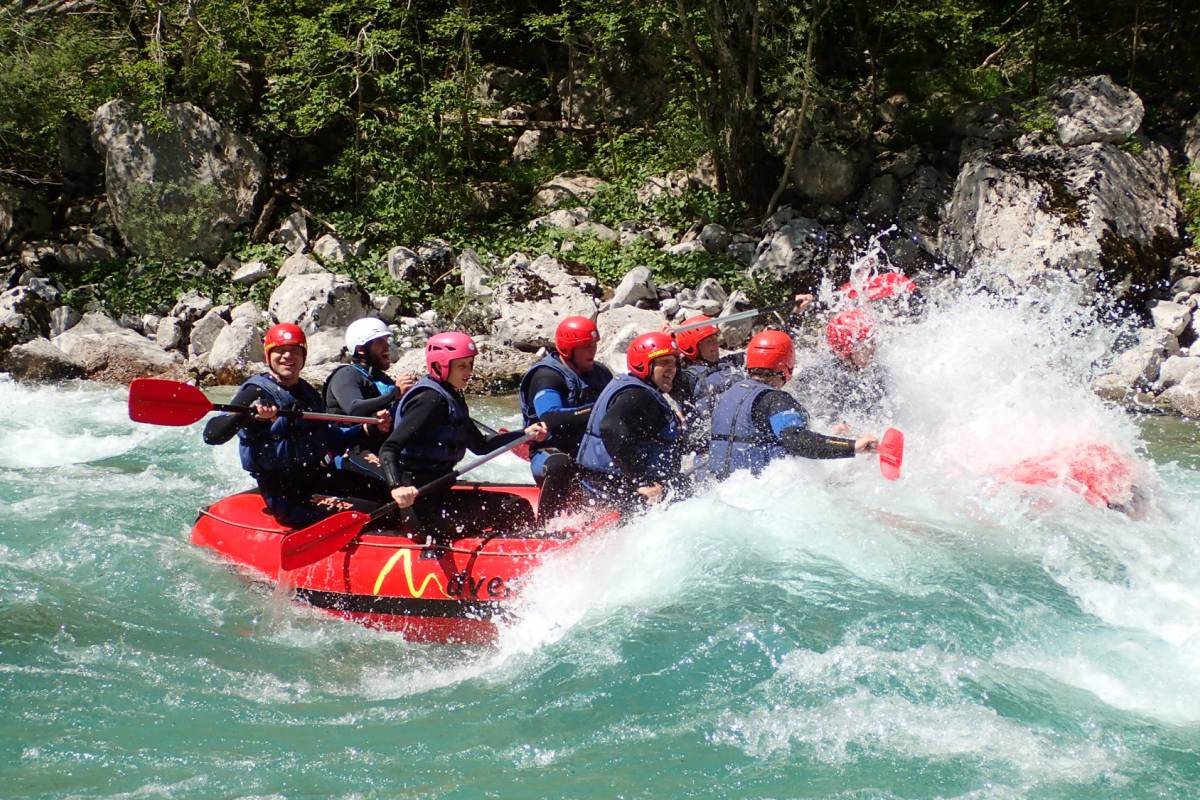 HungaroRaft Kft Soča rafting weekend, from Bovec, Slovenia
