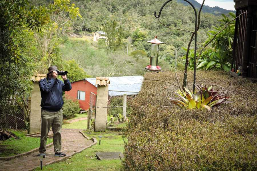 Andes Ecotours Hummingbird Observatory U$80