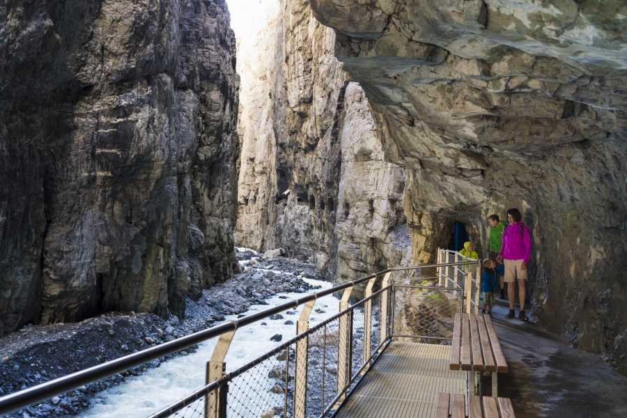 Grindelwaldsports Glacier Canyon Grindelwald