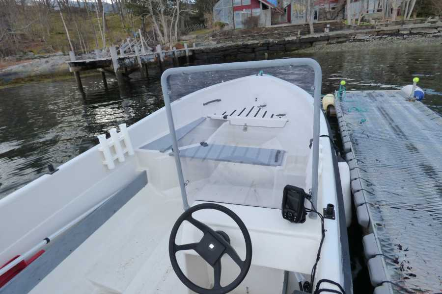 Hardanger Feriesenter AS Boat rental - Terhi 25 hp fishing boat