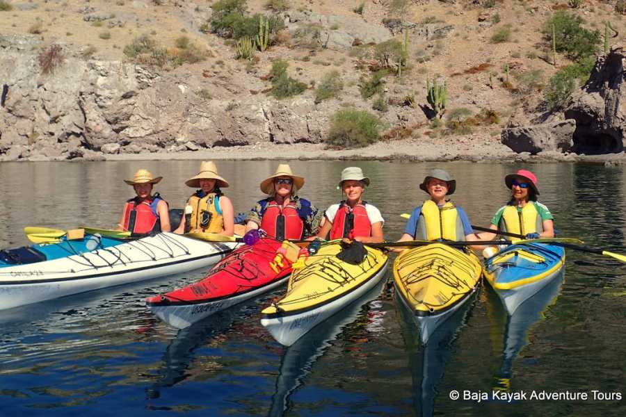 Baja Kayak Adventure Tours Ltd. Islands to Agua Verde - 7 Day Kayak Expedition