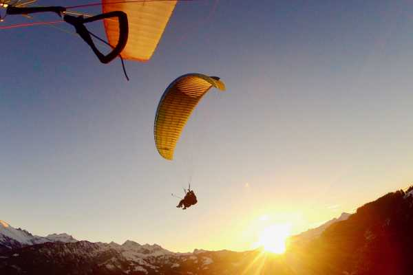 Paragliding Interlaken Flight