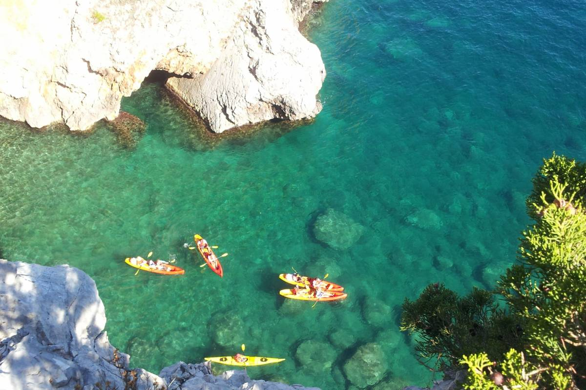 Nature Trips Dubrovnik Islands One day tour  - Kayaking and Walking Kolocep Island