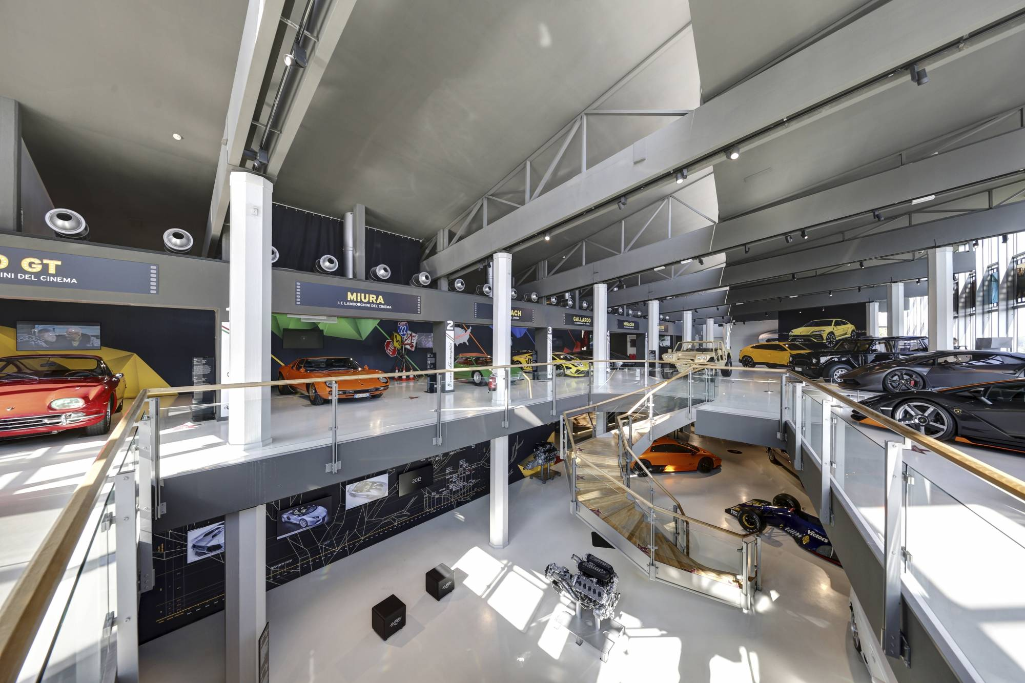 Lamborghini Museum Factory