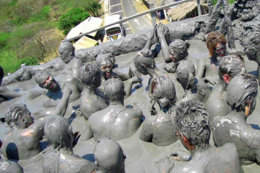 Backpackers 8. Mud Volcano - Relaxing & Exfoliating Bath
