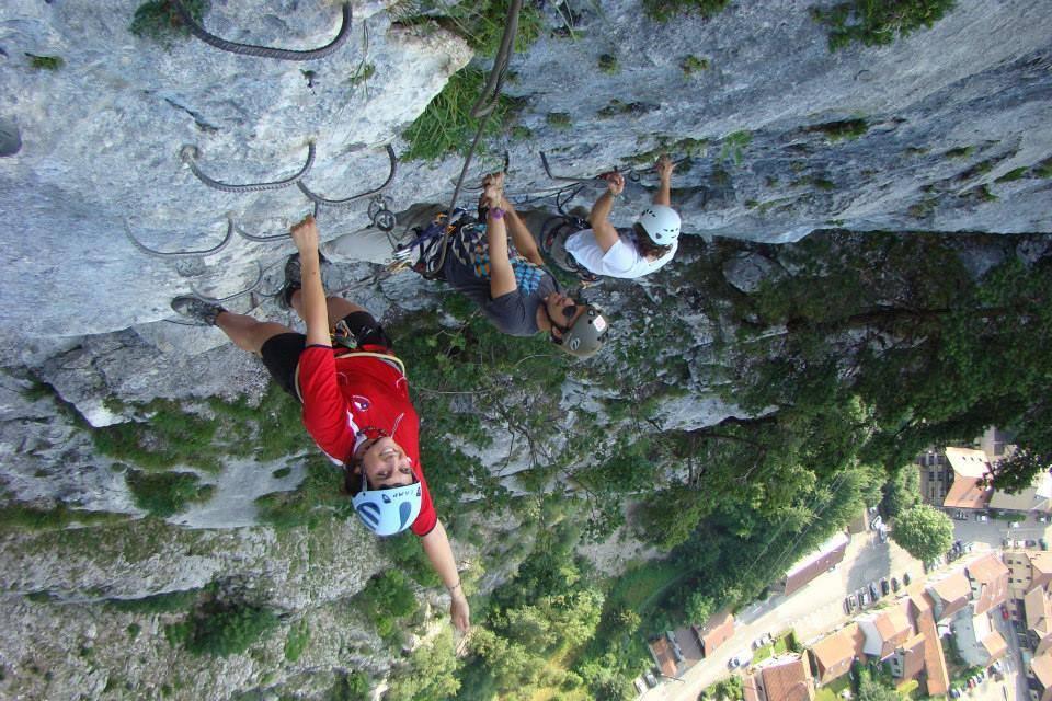 Klettersteig Chamonix : Klettersteig wazalp outdoor activities in french alps try