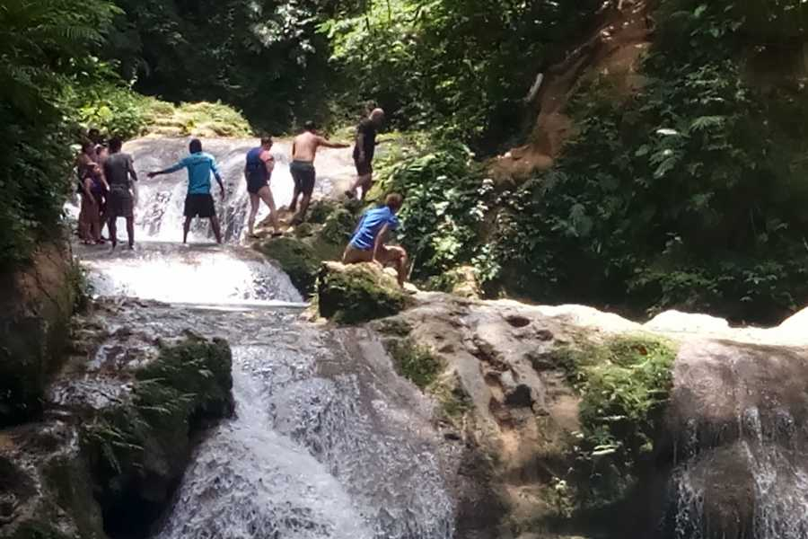 Route 876 Tours Island Gully Falls and Ocho Rios Day Excursion from Falmouth