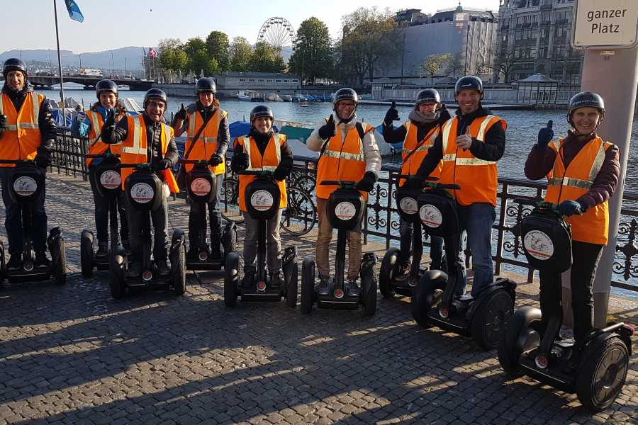 Segway City Tours by HB-Adventure Early Bird Segway Tour Zurich (Sunday morning)