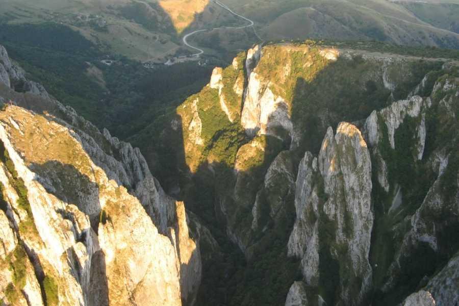 Wild-Trails Hiking and Via Ferrata at Turda Gorge and Salina Turda -Day Trip