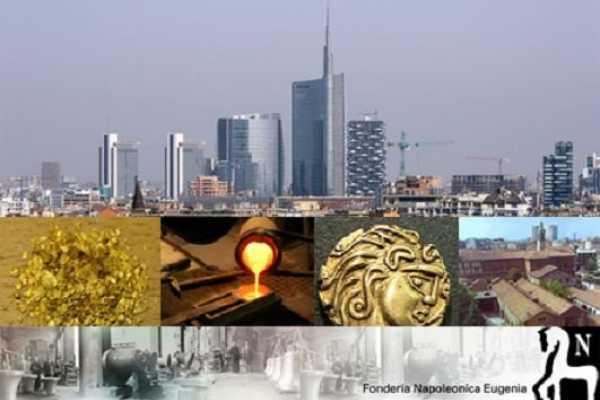 """(VIP) Dai grattacieli della """"Città che sale"""" alla fusione in una storica fonderia milanese"""