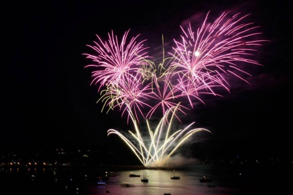 Oates Travel St Ives BRITISH FIREWORKS CHAMPIONSHIPS AT PLYMOUTH