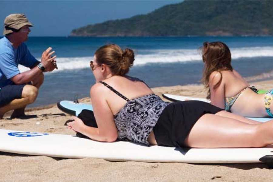 Tour Guanacaste On-Line Playa Grande Beginner Surf Lessons