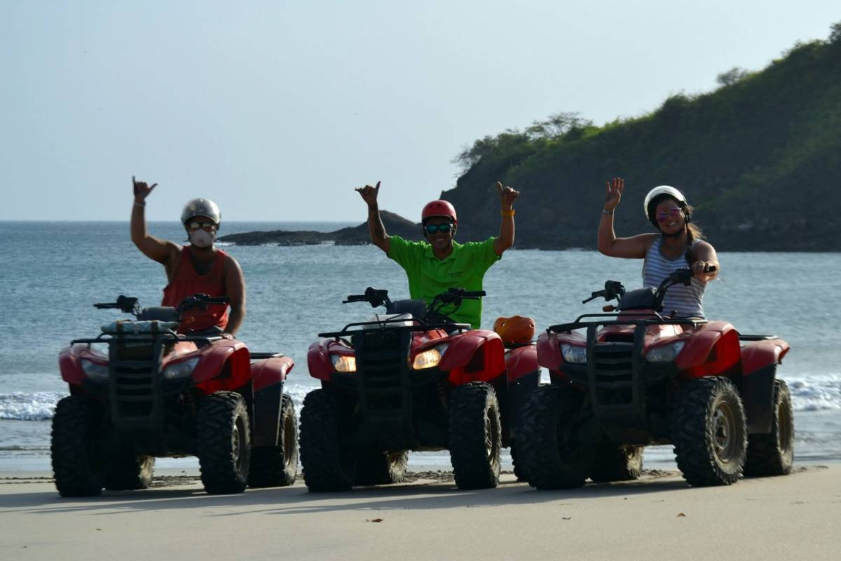 Tour Guanacaste North Beach Snorkel and ATV Tour