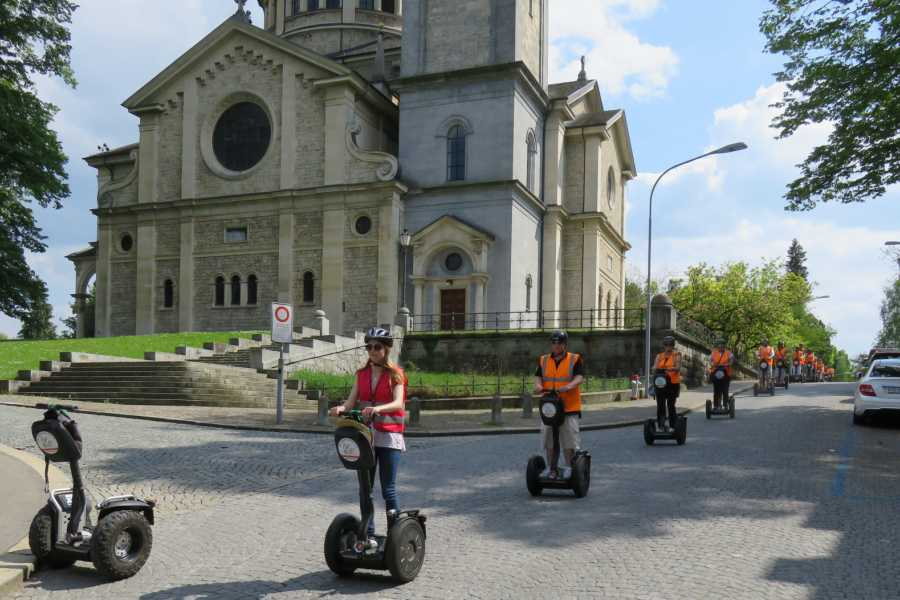 Segway City Tours by HB-Adventure Romantic Weekend in Zurich including Segway Tour for 2 persons