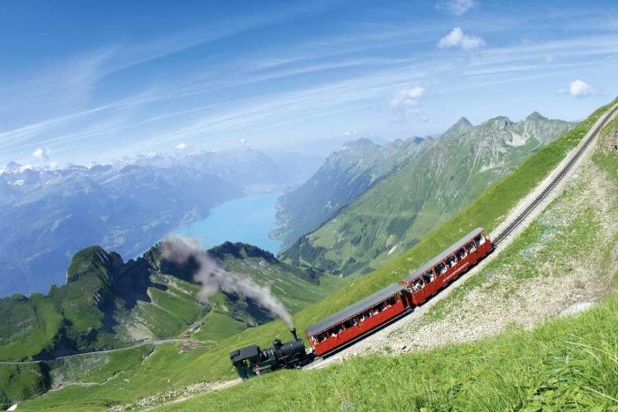 Interlaken Tourismus Ticket combiné Brienz Rothorn Bahn