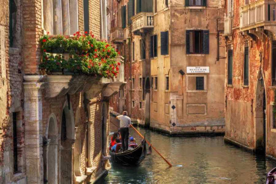Venice Tours srl Discover Venice: Gondola Ride & Historical Center Walking Tour