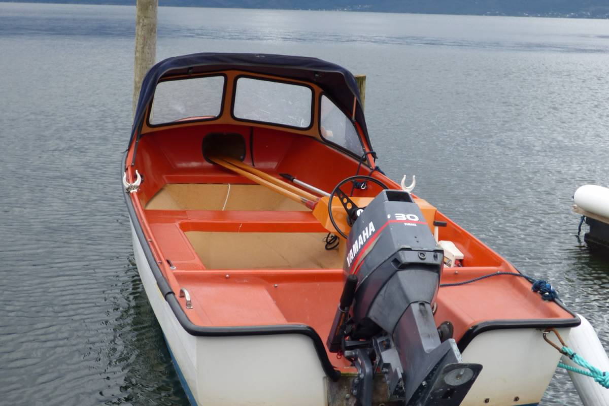 Hardanger Feriesenter AS Boat rental - 30/1 hp fishing boat