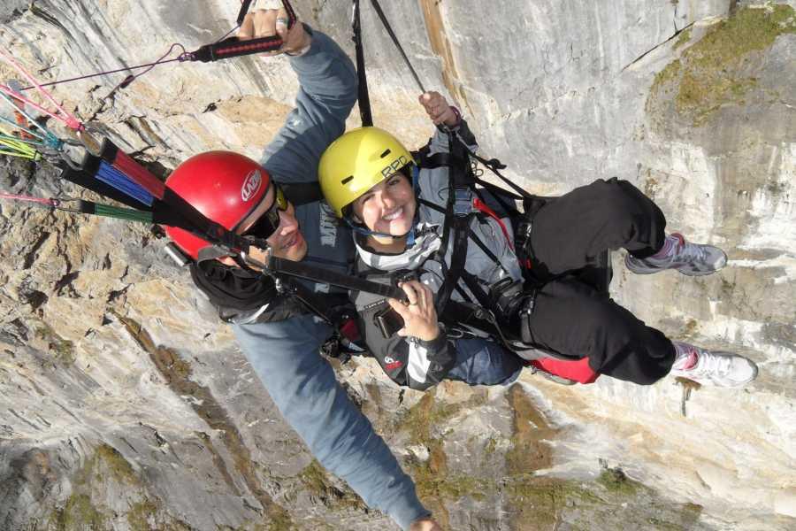 Swiss Paragliding & Adventure GmbH Paragliding Mürren - Stechelberg