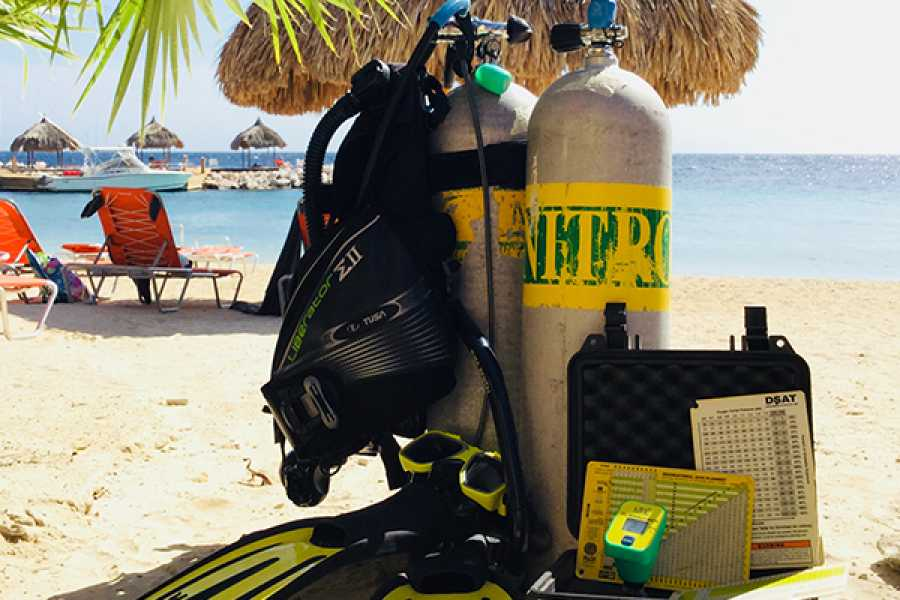 Blue Bay Dive & Watersports Unlimited Nitrox Tank Package