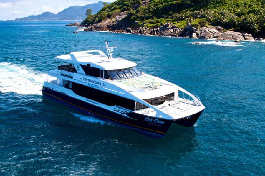 Seychelles Ferries Cat Cocos Fähre Praslin-Mahé online buchen!