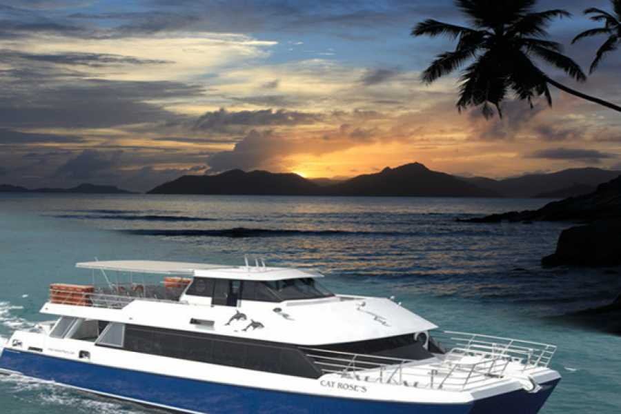Seychelles Ferries Cat Rose Praslin - La Digue traghetto veloce prenota online!
