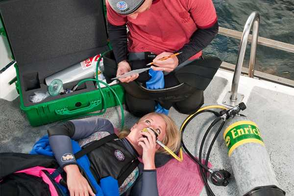Blue Bay Dive & Watersports PADI EMERGENCY OXYGEN PROVIDER SPECIALTY