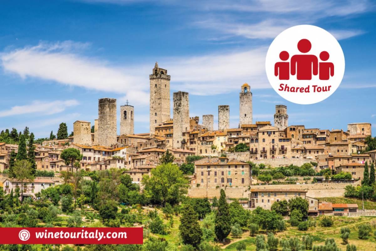 Winetouritaly.com SAN GIMIGNANO & CHIANTI SHARED TOUR