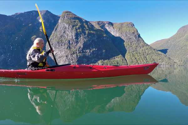 Guided kayak trip 3 hours