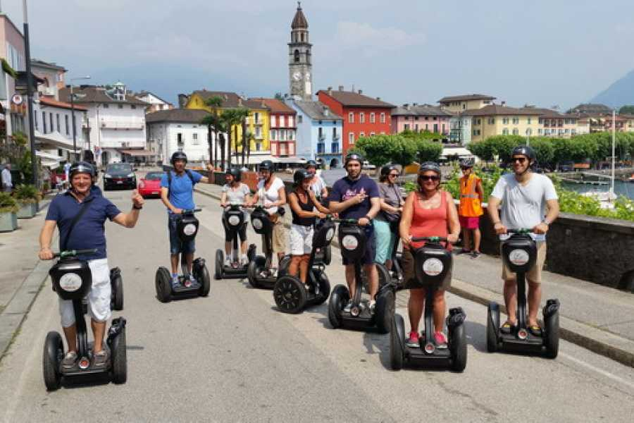 Segway City Tours Übernachtung im Tessin inkl. Segway Tour