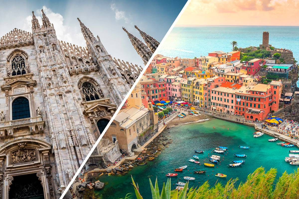 Lookals Milan to 5 Terre Day-trip