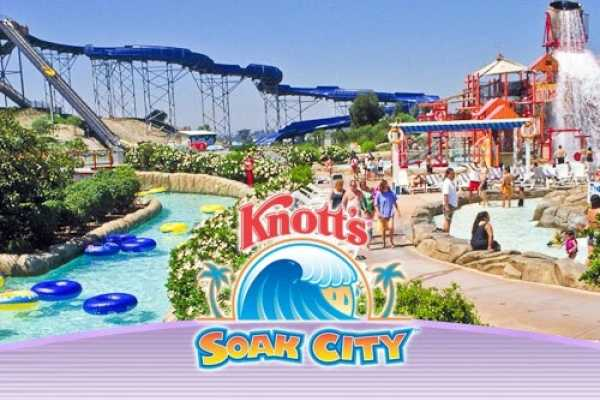 Southern California Ticket & Tour Center 1 Day Knott's Soak City Admission