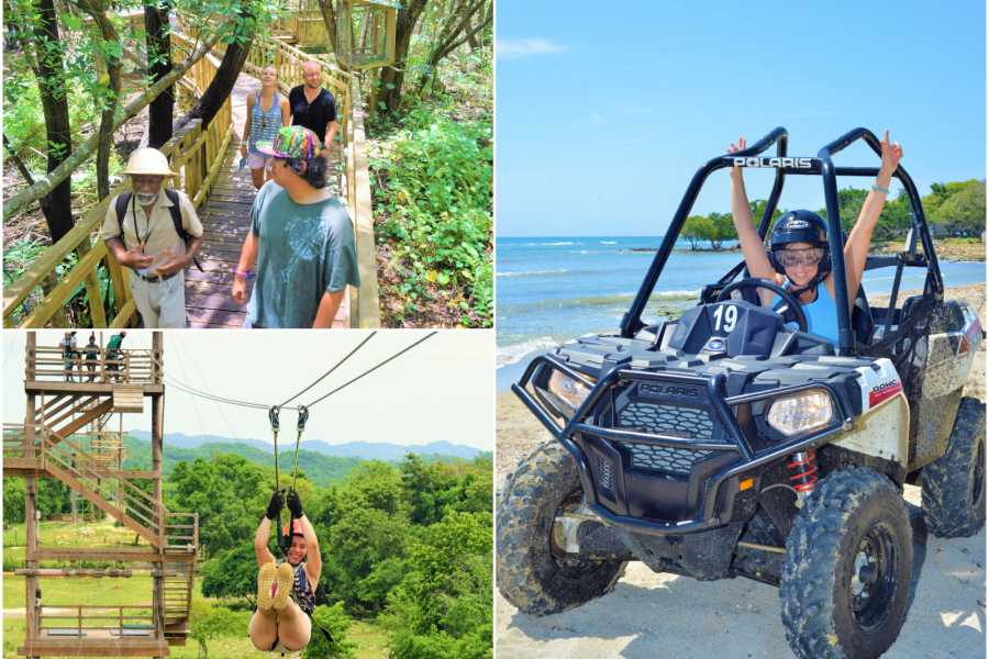 Jamwest Motorsports and Adventure Park Super Deal (zip,safari, lunch, atv)