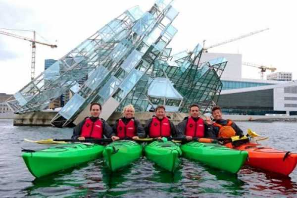 Mad Goats AS Foundation course in a sea kayak