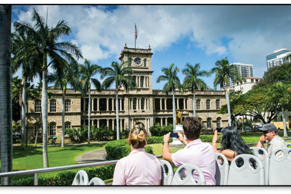 Dream Vacation Builders Double Decker Pearl Harbor & Honolulu City Highlights Tour