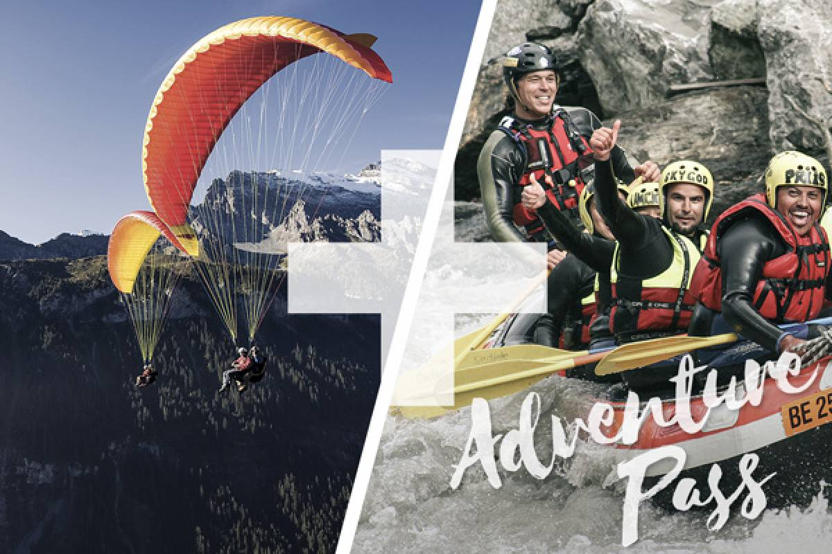 Outdoor Interlaken AG Splash and Fly: Rafting Lütschine