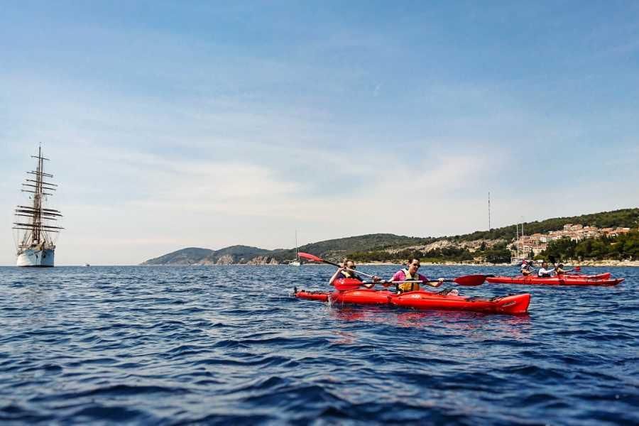 Aktivni Odmor PVT Pakleni islands sea kayaking SOT