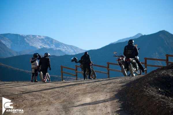 Argentina Moto Tours Villavicencio Full Day