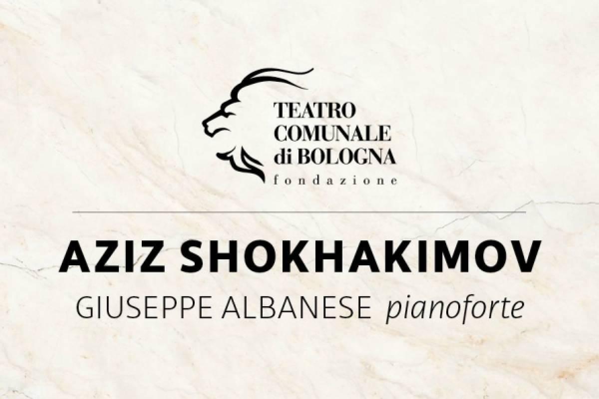 Bologna Welcome UNA SERATA A TEATRO - Aziz Shokhahkimov e Giuseppe Albanese