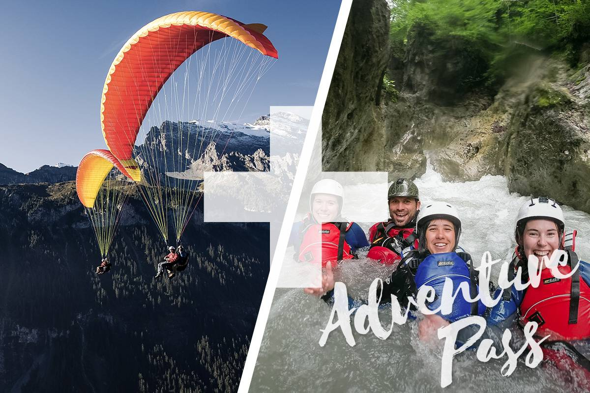Outdoor Interlaken AG Splash and Fly: Canyoning Interlaken